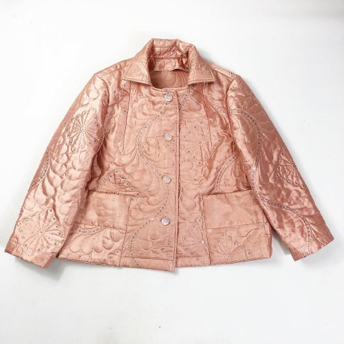 UPCYCLED PINK JACKET WIDER